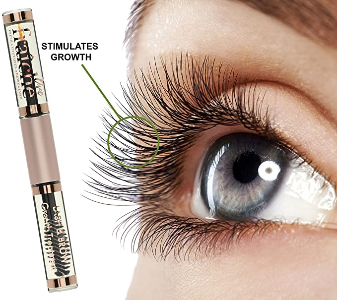Live Frachie Castor Oil Cold Pressed Organic For Eyelashes Eyebrows