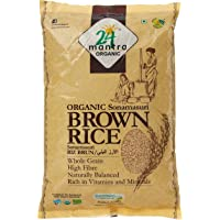 24 Mantra Organic Sonamasuri Brown Rice, 2kg