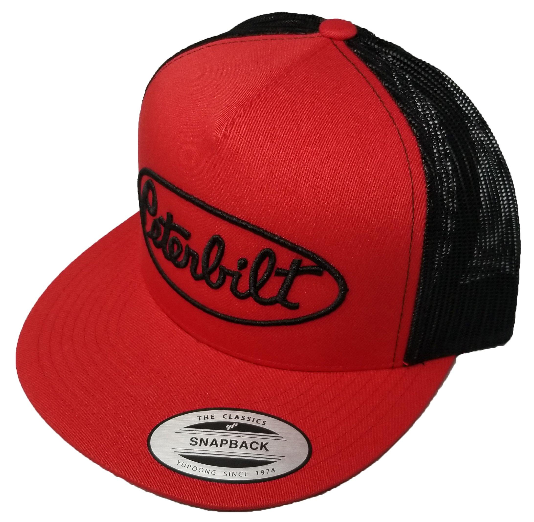 298cb564 Yupoong Peterbilt Logo Emblem Hat Cap Adult Adjustable Snapback Unisex