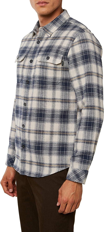 ONeill Mens Standard Fit Long Sleeve Button Down Flannel Shirt