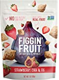 Figgin' Fruit Snacks   Fig, Strawberry & Chia   8 Pack, 7 oz Bags   Vegan Snacks, Dairy Free, Made with Real Fruit…