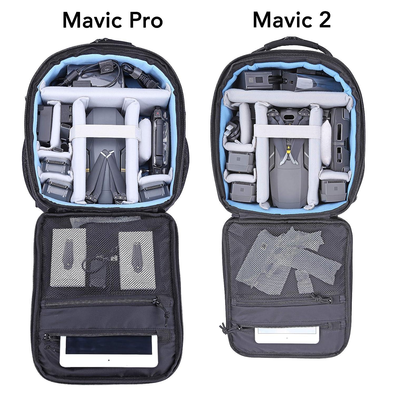 06e75bdb2a Lykus M1 Zaino da Viaggio Impermeabile per DJI Mavic 2, DJI Mavic Pro, Mavic  Pro Platinum, Perfettamente Adatto per Fly More Combo e Più Articoli 4-in-1  ...