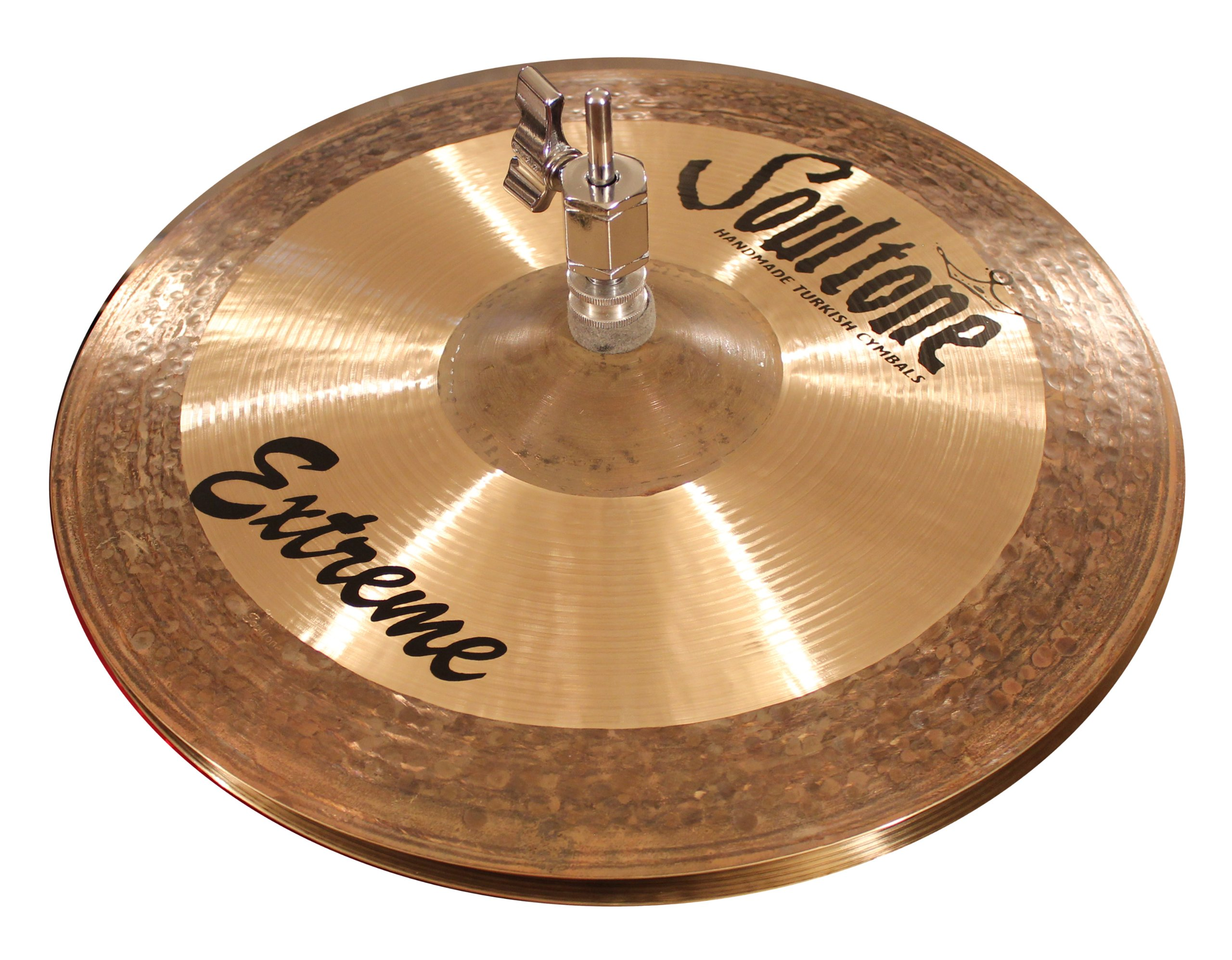 Soultone Cymbals EXT-HHT13-13'' Soultone Cymbals Extreme Hi Hats Pair by Soultone Cymbals