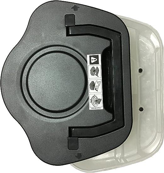reyee Filtro Cartucho Caja de polvo para Philips Robot fc8772 ...