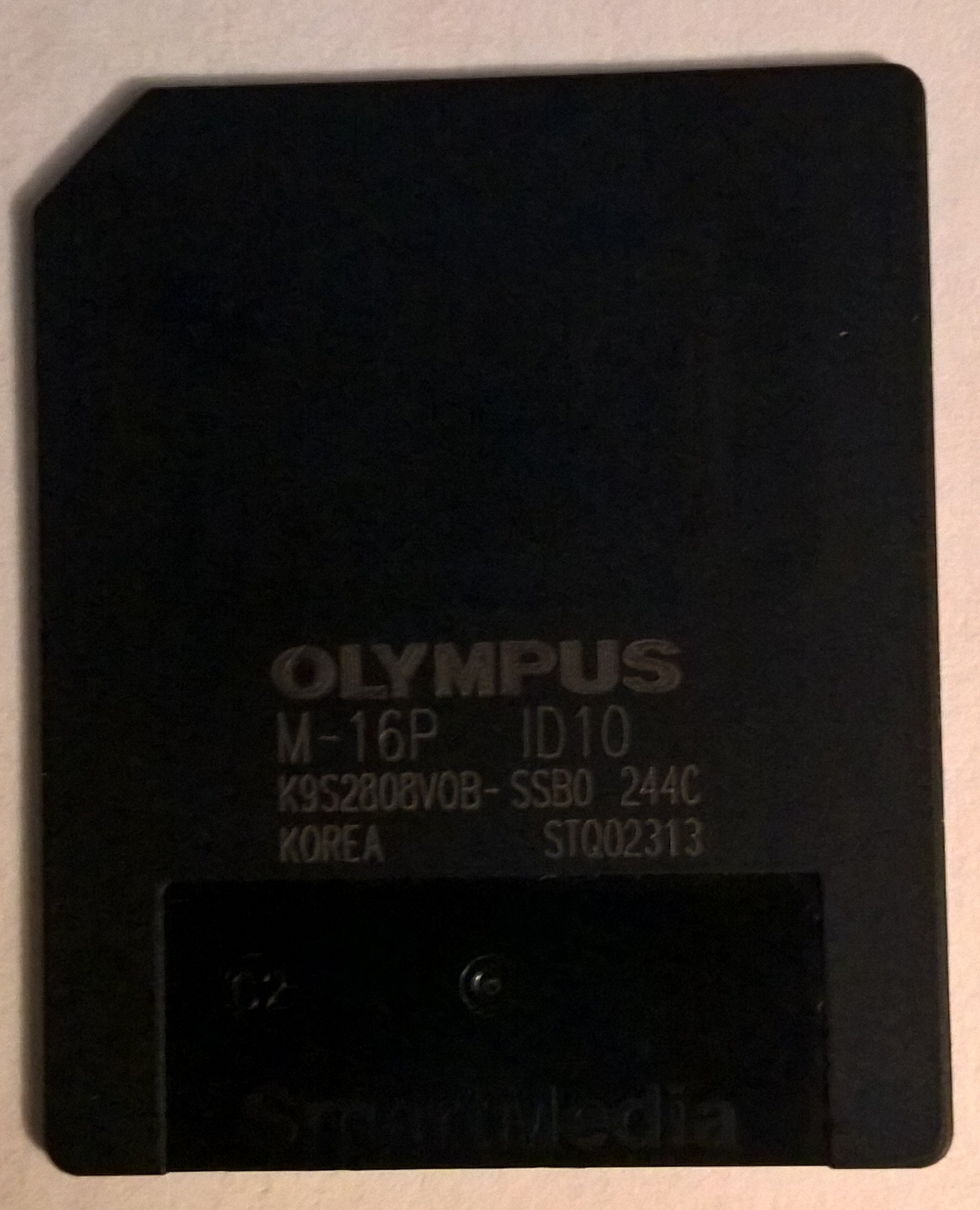 SmartMedia 16MB Digital Flash Memory Card by Olympus