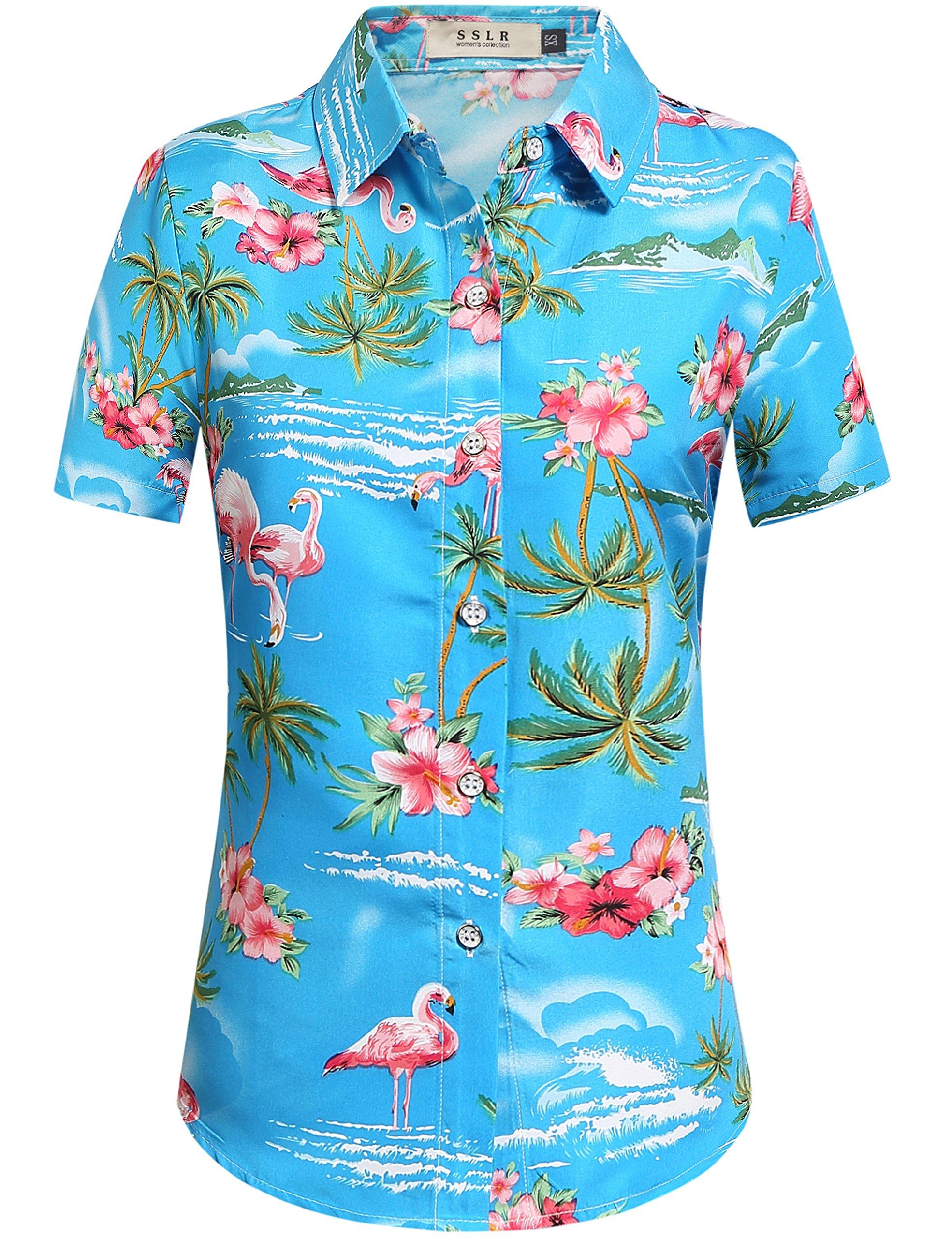 Hawaiian shirt for women