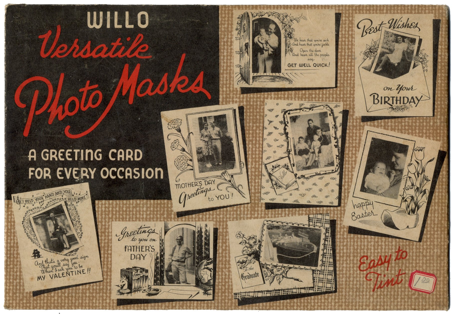 Willo Versatile Photo Masks A Greeting Card For Every Occasion