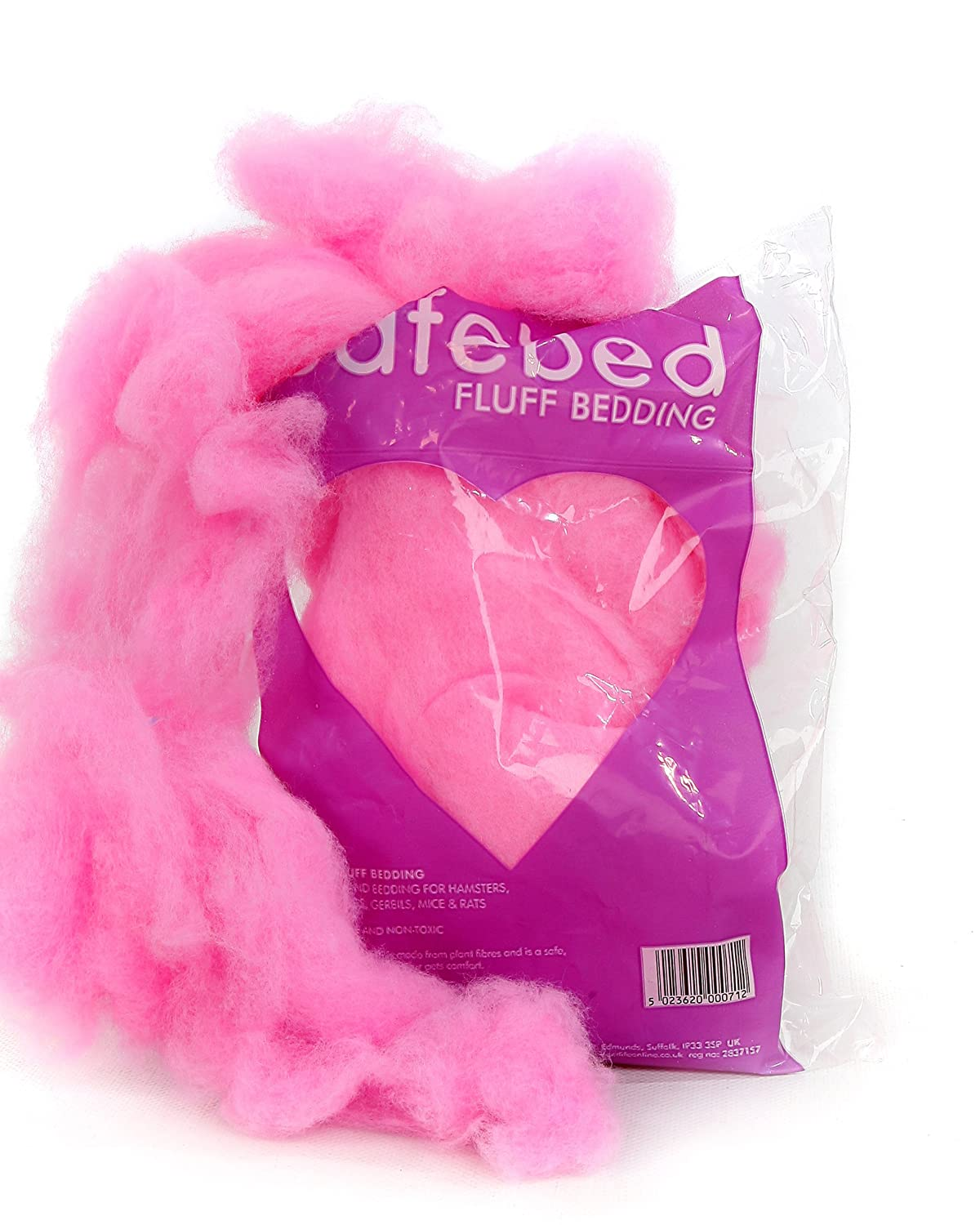 Safebed Fluff Petlife Small Animal Bedding Sachet For Small Pet (Colours Vary)