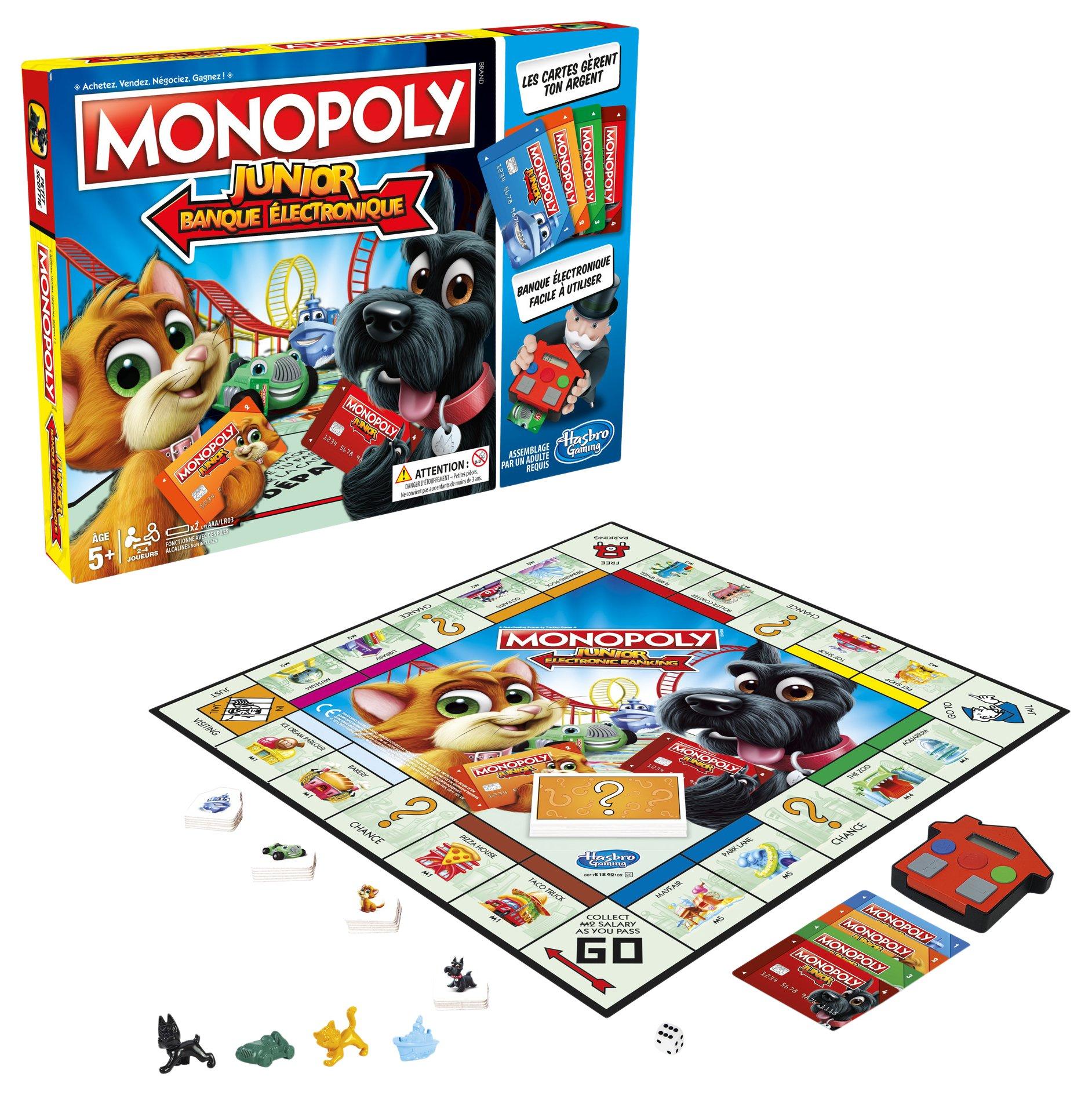 Monopoly - Junior Electronique - Jeu de Société - E1842 product image