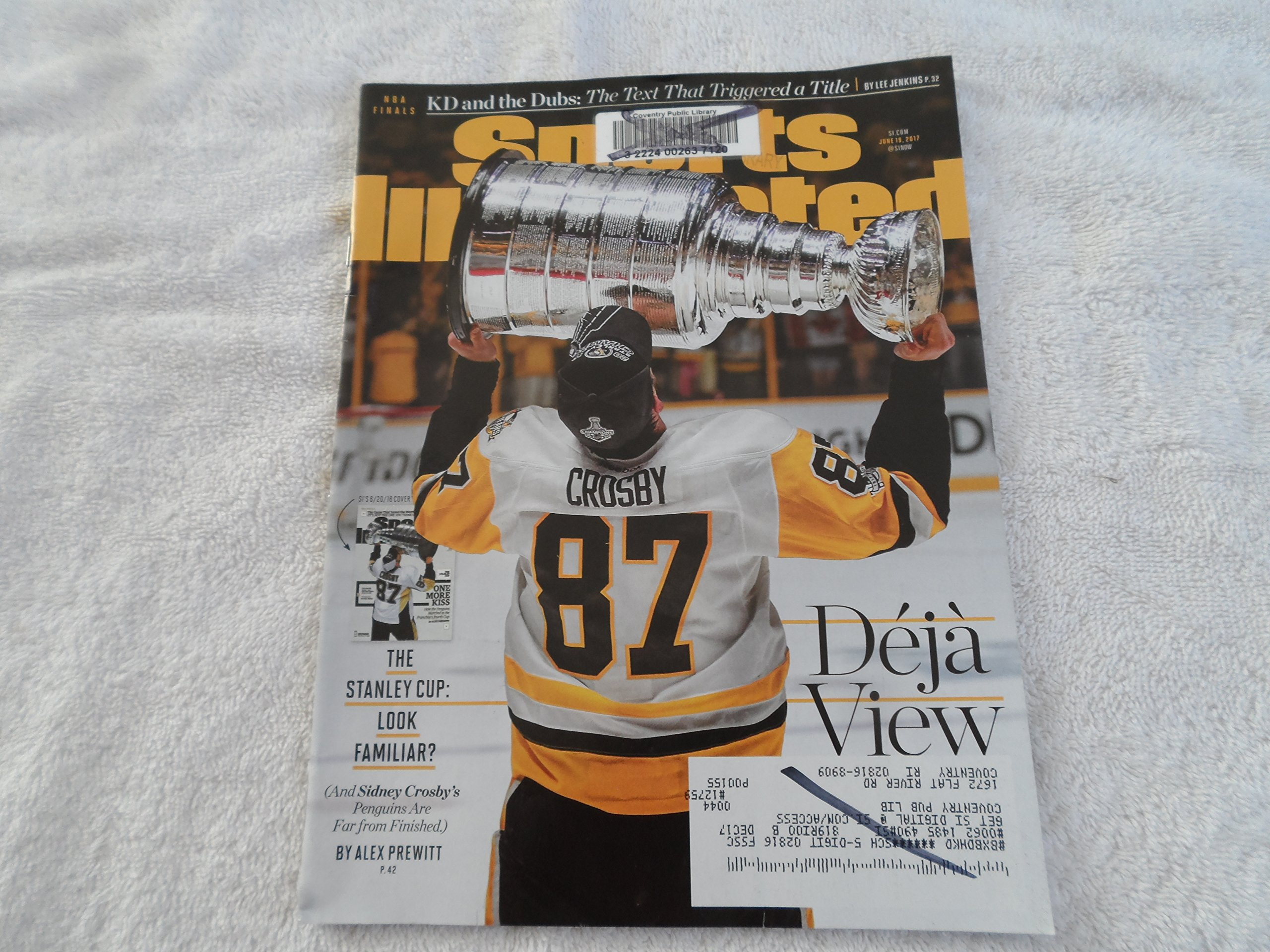 Sports Illustrated, June 19, 2017 (Deja View: The Stanley Cup), Volume 126, Number 17 ebook