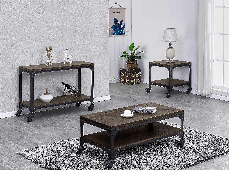 Amazon Com Best Quality Furniture Ct155 156 156 Ct155 6 6 Coffee