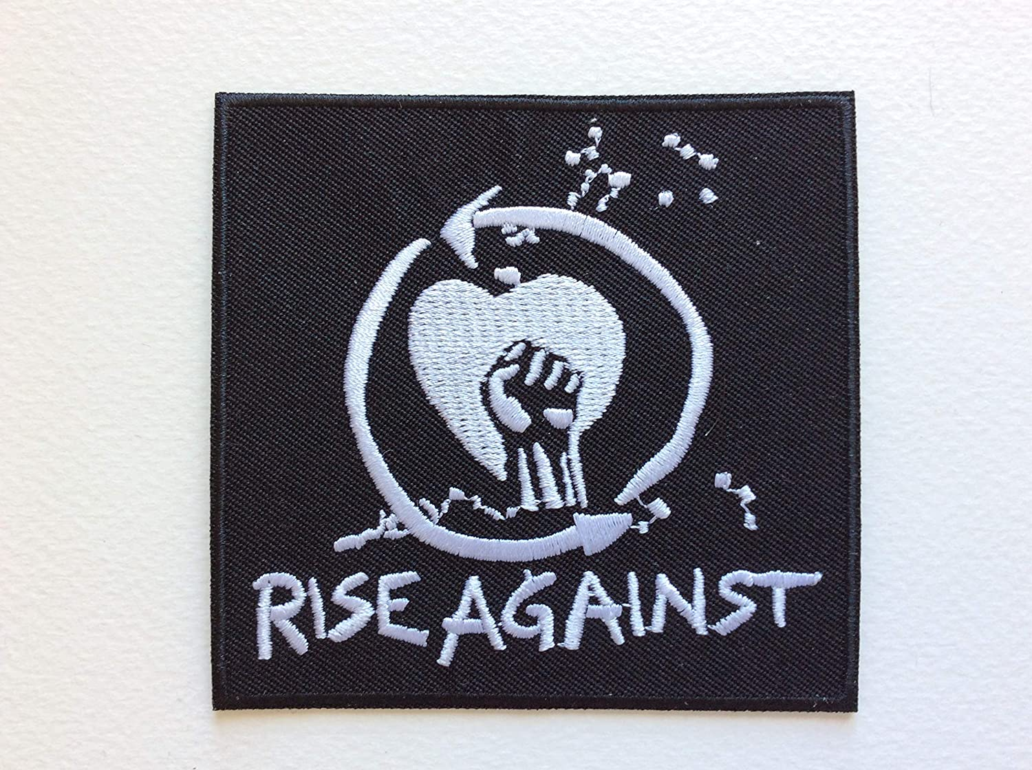 Rise Against 9 8,5 CM BLUE HAWAI ECUSSON Patches AUFNAHER Toppa THERMOCOLLANT