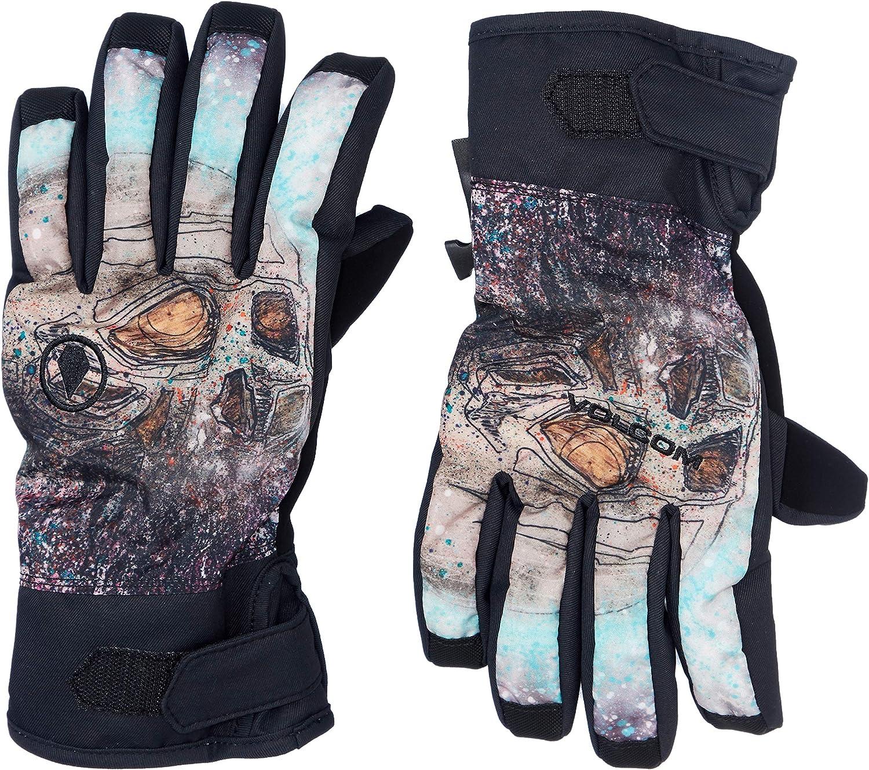 Volcom Mens Nyle 2 Layer Nylon Shell Snow Glove