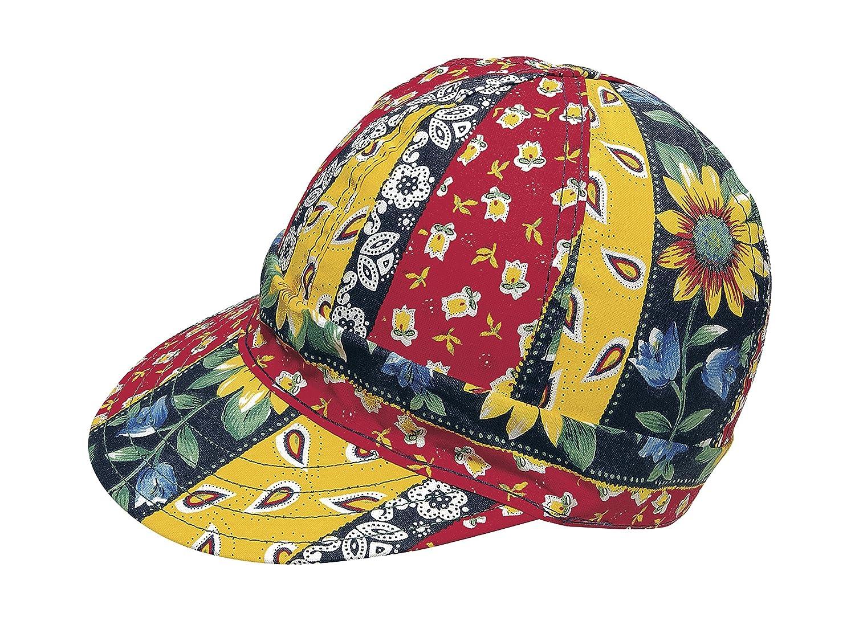 Cotton Width 6 Length 5 Mutual Industries 00352-00000-7125 Kromer Daisy Chain Style Welder Cap 7 1//8