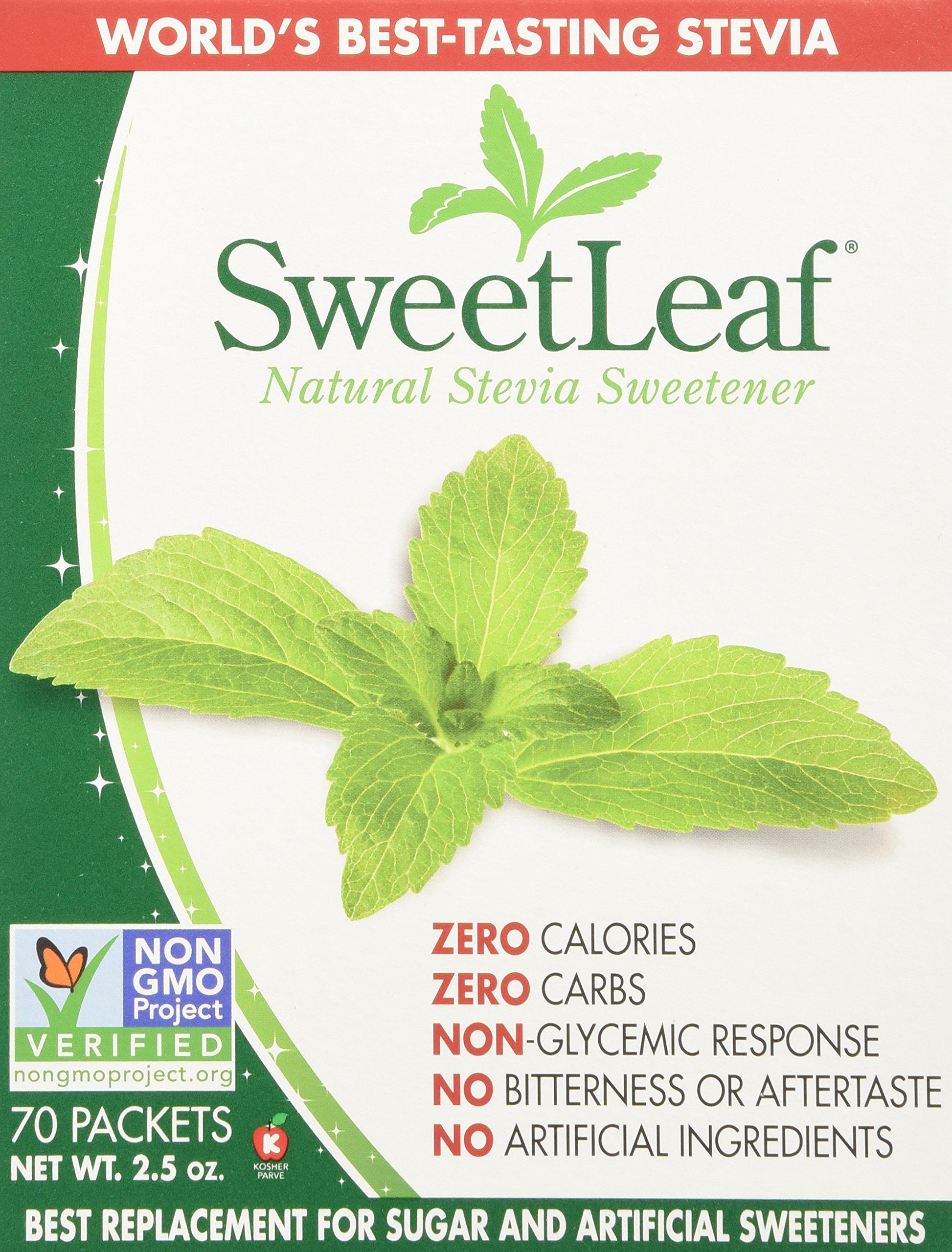 Sweetleaf Stevia 70 Piece Sweetener, 1 Count