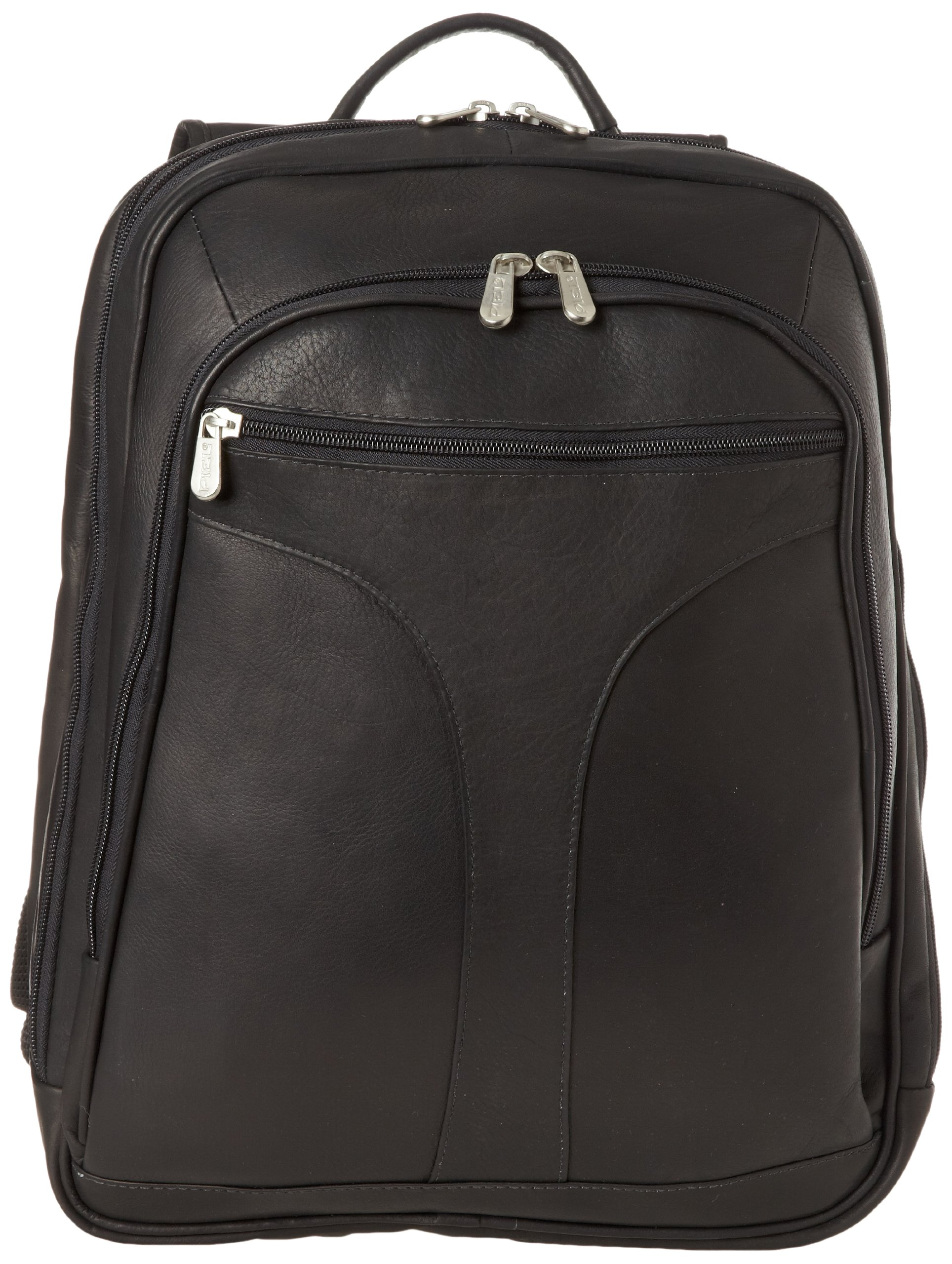 Piel Leather Checkpoint Friendly Urban Backpack, Black, One Size