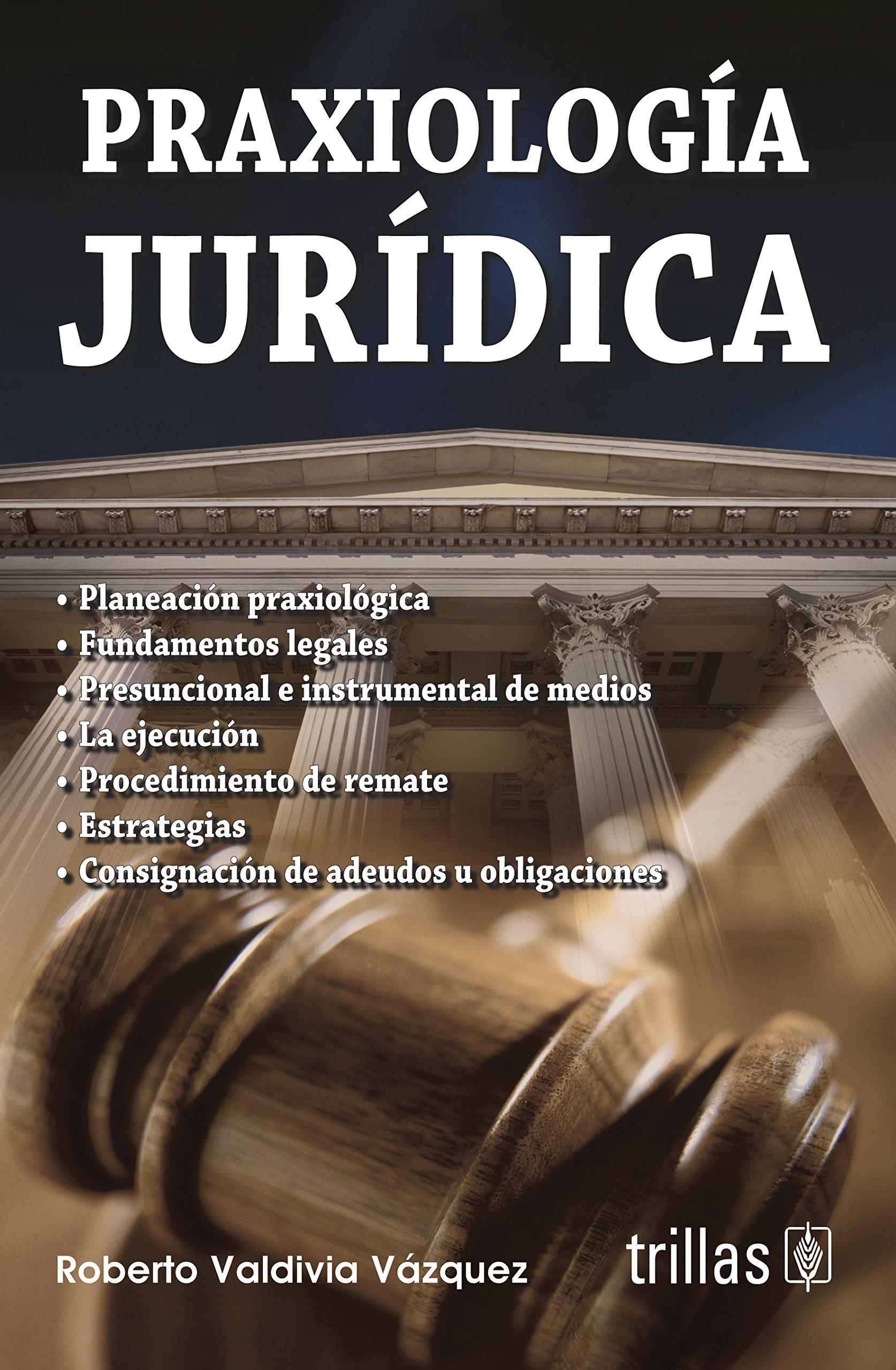 Praxiologia juridica / Legal Praxeology (Spanish Edition) pdf