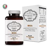 Apothecary 1982 - Maca + L-Arginina + Zinco e Vitamine B/C - 120 compresse - Ricostituente e afrodisiaco - 100% Made in Italy