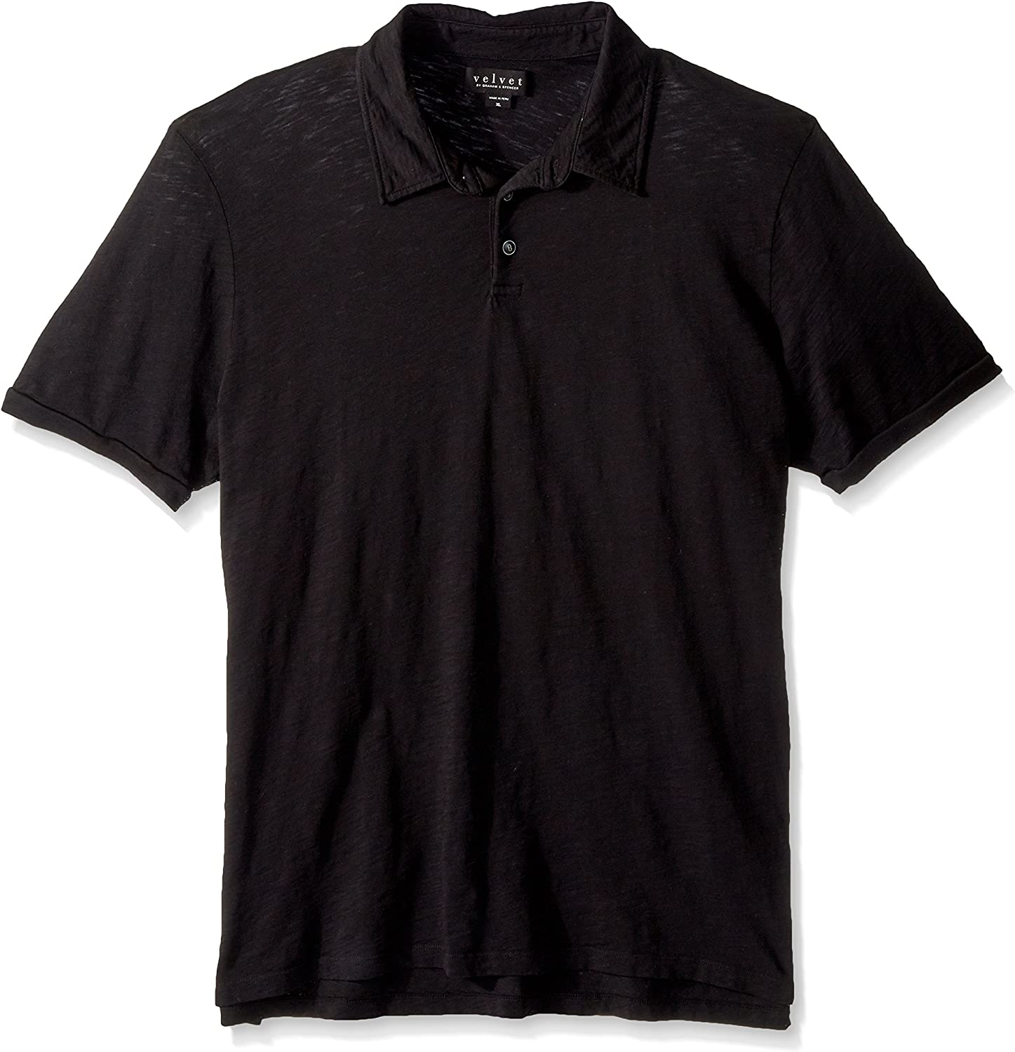 Velvet by Graham /& Spencer Men/'s Randall Ss Polo Shirt