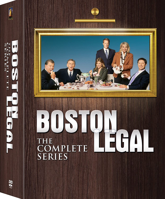 Boston Legal Complete Collection Season 1 - 5 James Spader William Shatner Candice Bergen FOX