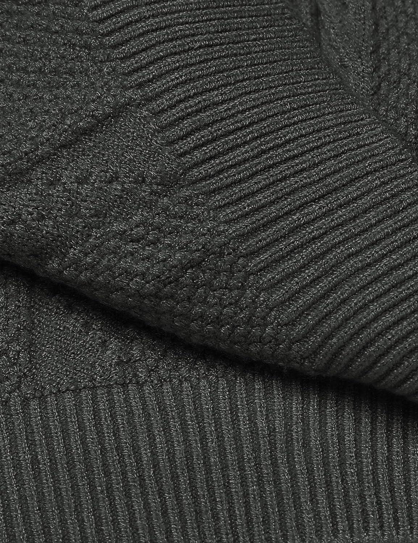 COOFANDY Mens Shawl Collar Cardigan Sweater Casual Slim fit