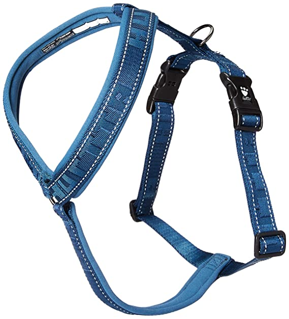Hurtta Casual Perro Acolchado Y-Harness, River, 32 en: Amazon.es ...
