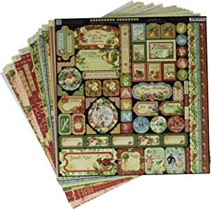 Graphic 45 12 Days of Christmas Deluxe Collector's Edition Paper Pack