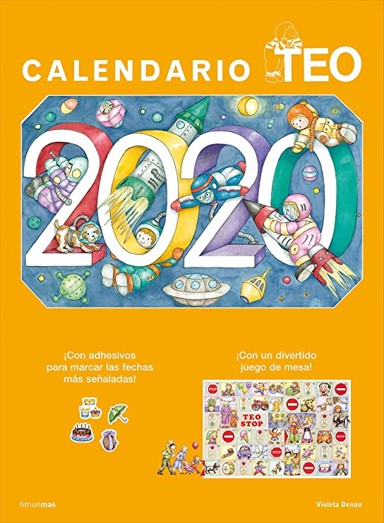 Calendario Teo 2020 (Libros especiales de Teo): Denou, Violeta: Amazon.es: Oficina y papelería