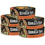 "Gorilla Black Duct Tape, 1.88"" x 35 yd, Black, (Pack of 5)"