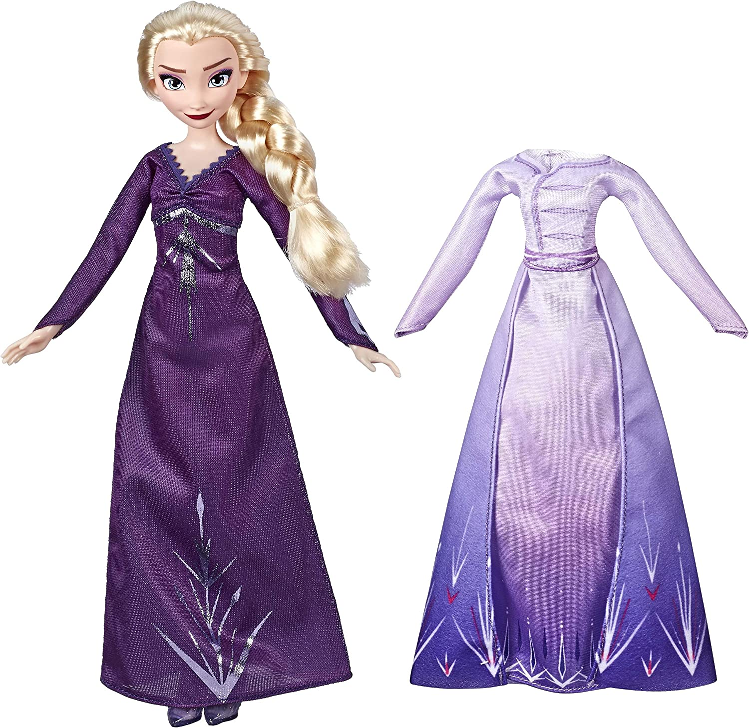 Amazon Com Disney Frozen Elsa Fashion Doll Inspired By Frozen 2 Toys Games