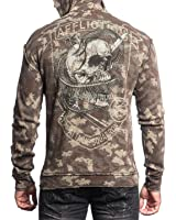 Affliction Death Coil Reversible Hoodie