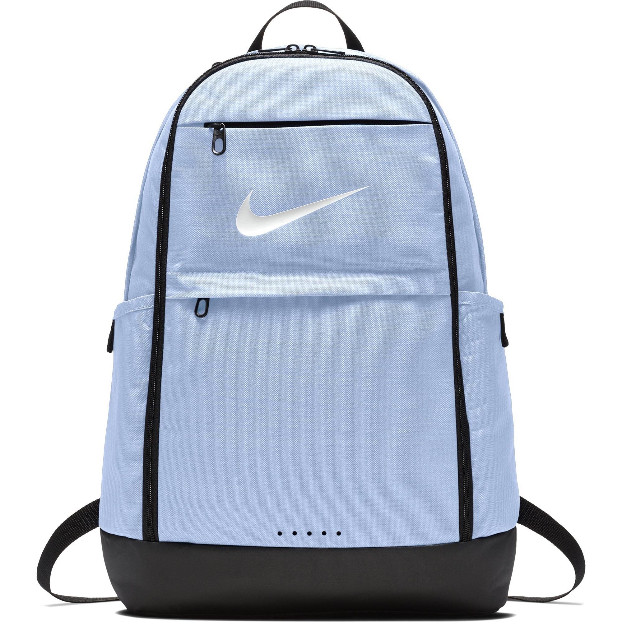 NIKE Brasilia Backpack, Royal Tint/Black/White, X-Large
