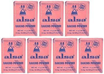 French Baking Powder Alsa 7 pouches(0 38 oz)