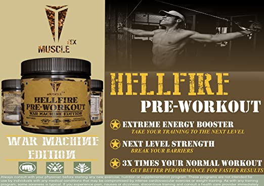 Amazon.com: _ANABOLIC_Hellfire PRE-Workout Powder_ * - Extreme- Pre Workout - Fasting Acting Powder – Pre Workout for Men -and- Pre Workout for Women!