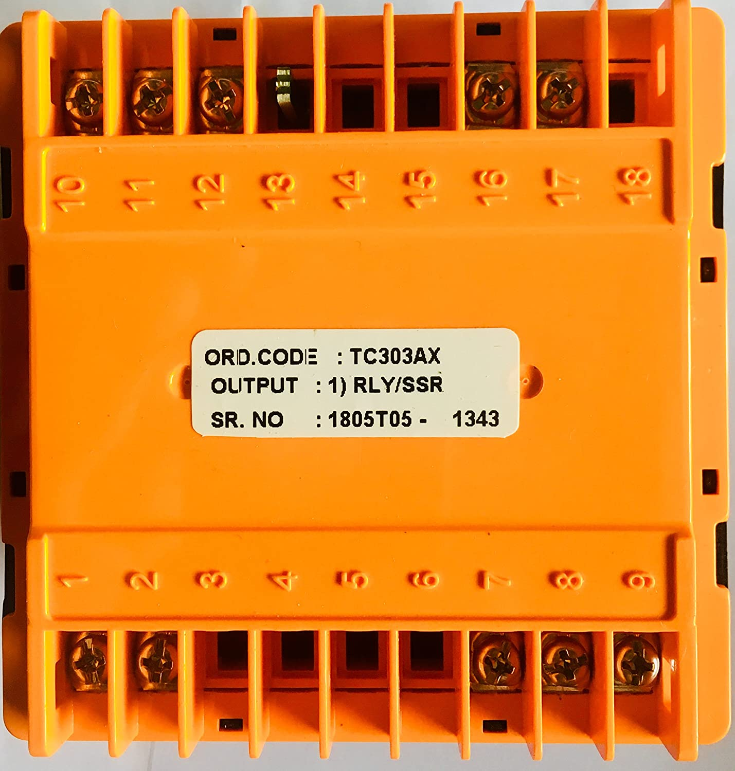 Selec Tc303ax Temperature Controller Industrial Scientific 513 Tc Wiring Diagram