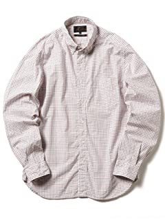 Tattersall Buttondown Shirt 11-11-5205-139: White
