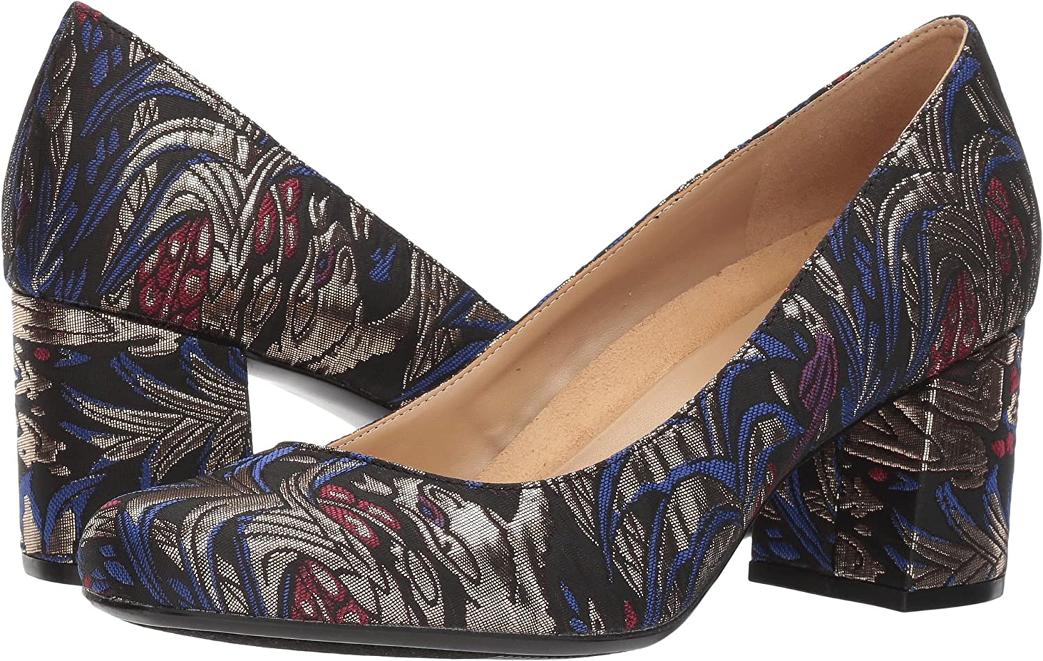 Naturalizer Women's Whitney Dress Pump Brocade B071NS4YNB 7 C/D US|Black Brocade Pump e6a345