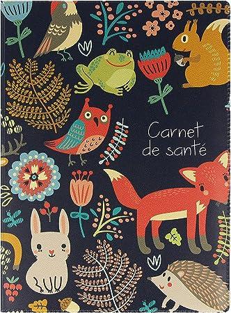 Chat Cadeau de Naissance Prot/ège-Carnet de Sant/é personnalis/é
