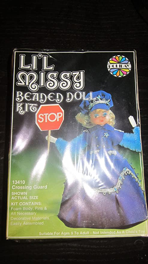Amazon com: Vintage Li'l Missy Beaded Doll Kit by Holiday