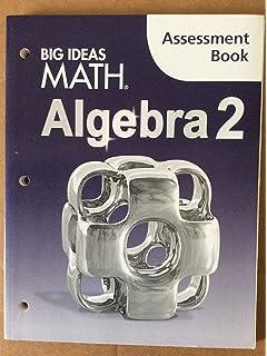 Amazon big ideas math algebra 2 common core student edition big ideas math algebra 2 assessment book fandeluxe Choice Image