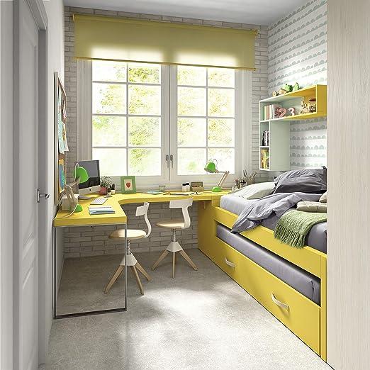 ambiato Dormitorio Juvenil Vita 30 Cama con Invitados Cama ...