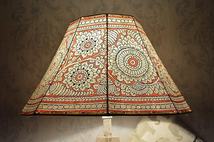 90cb916fee743 Mandala Large Floor Lampshade | Leather Floral Lamp Shade Hand ...