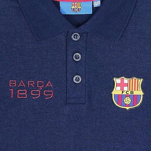 FC Barcelona - Polo de manga larga oficial - Para niño - 6-7 años ...