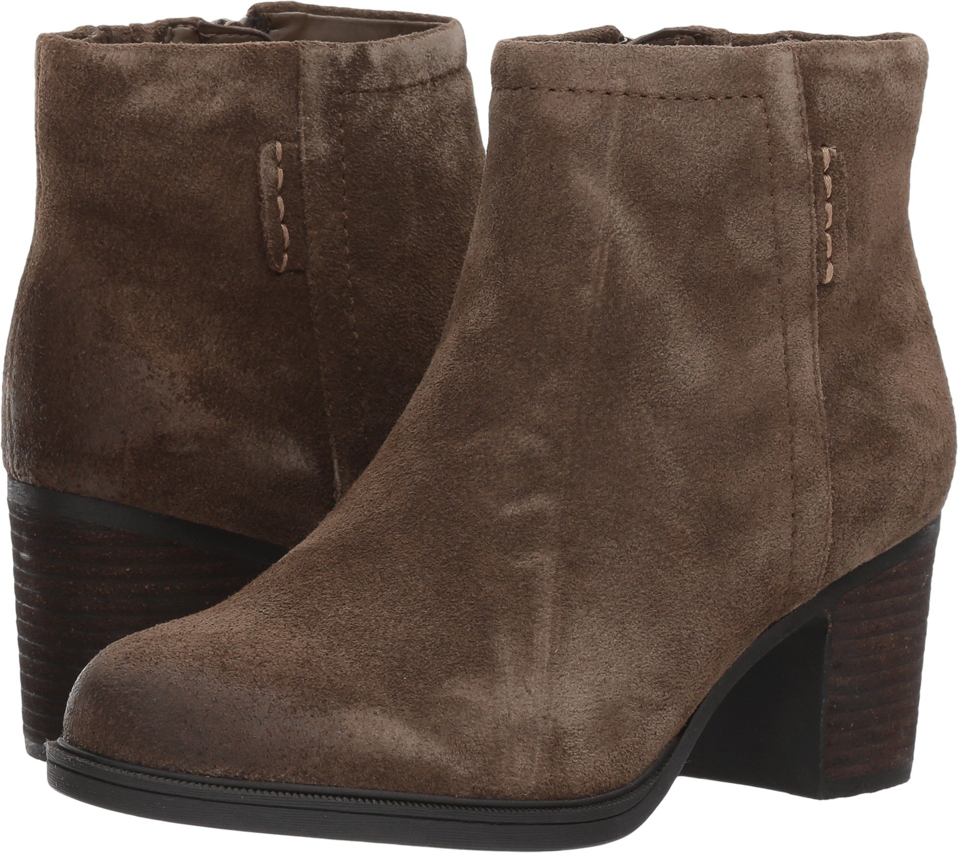 Rockport Cobb Hill Collection Women's Cobb Hill Natashya Bootie Caribou Suede Shoe by RACKPOT Cobb Hill COLLECTION