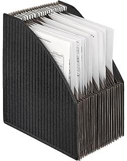 o//d Zeitungsst/änder Schwarz Zeitschriftenst/änder aus Gittergeflecht 5/F/ächer f/ür A4