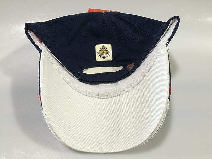 Amazon.com : Club Chivas de Guadalajara navy authentic cap gorra seleccion youth (yotuh) : Sports & Outdoors