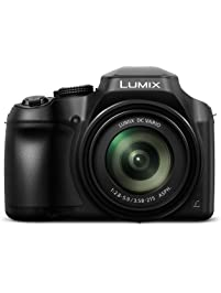 PANASONIC LUMIX FZ80 4K Digital Camera, 18.1 Megapixel Video Camera, 60X Zoom DC VARIO 20-1200mm Lens, F2.8-5.9 Aperture...
