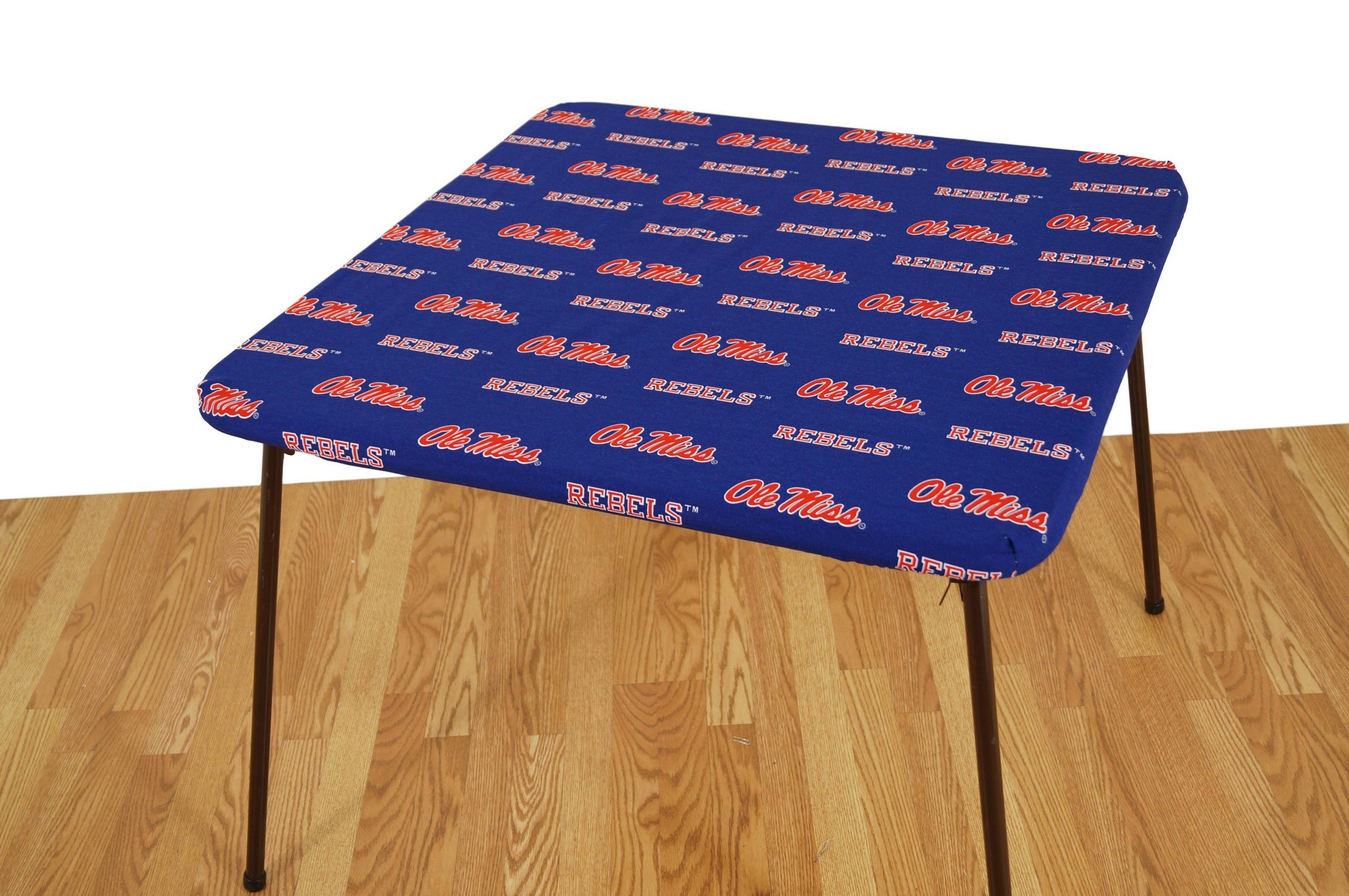College Covers Mississippi Rebels Card Table Cover, 33 by 33''