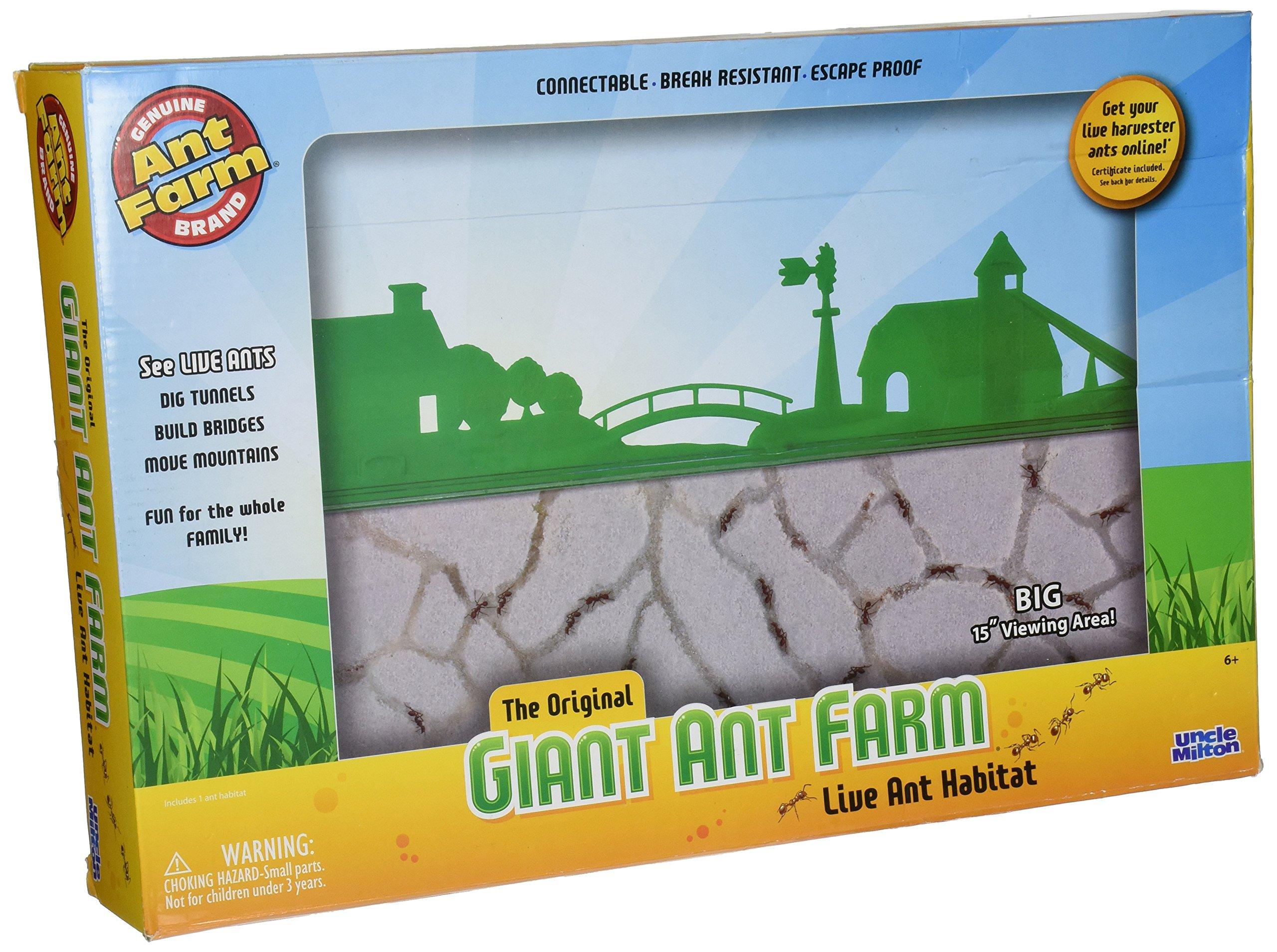 Uncle Milton Ant Farm Live Ant Habitat, Giant
