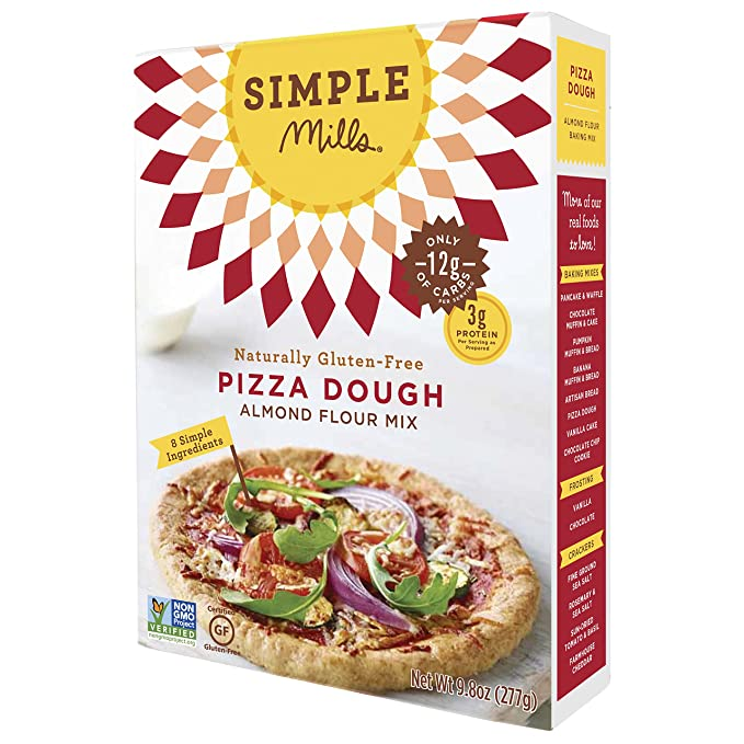Simple Mills - Pasta naturalmente Gluten-Libre de la pizza ...